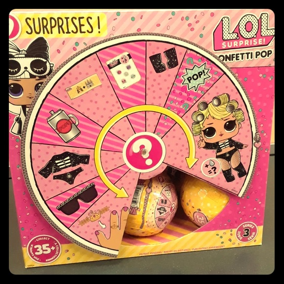 Mga Entertainment Other Lol Surprise Confetti Pops Series 3 Wave